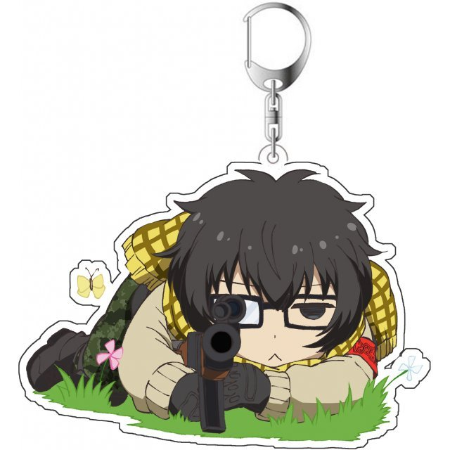 Aoharu x Machinegun Original Illustration Acrylic Key Chain: Yukimura