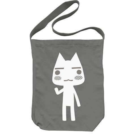 Doko Demo Issyo Shoulder Tote Bag Medium Gray: Toro