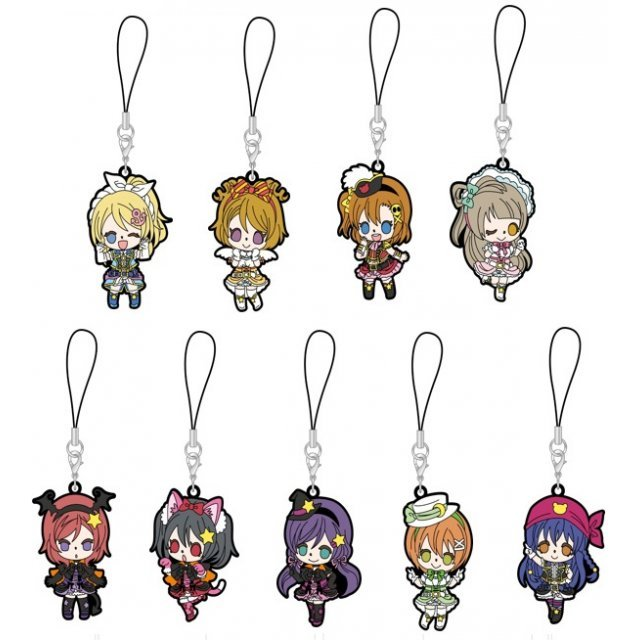 Love Live! Rubber Strap Dancing Stars on Me! Ver. (Set of 9 pieces)