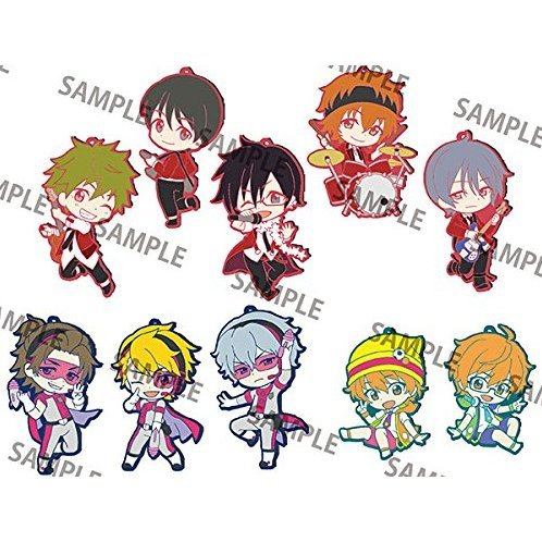 Toy's Works Collection Niitengomu! The Idolmaster SideM Vol. 2 (Set of 10 pieces)