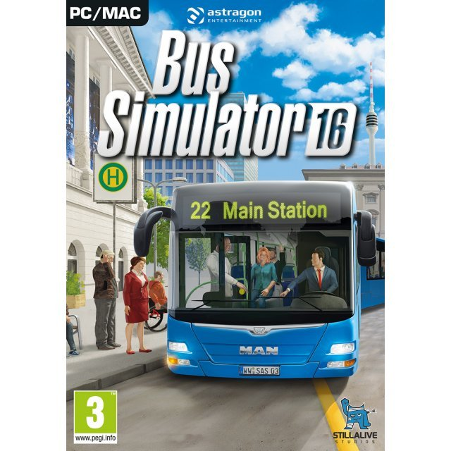 Bus Simulator 16 (DVD-ROM)