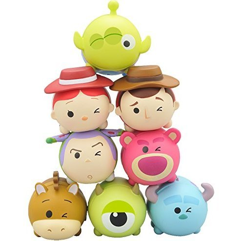 Disney Nosechara Tsum Tsum Pixar Ver. Solo (Set of 8 pieces)