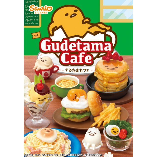 Gudetama Cafe (Set of 8 pieces)