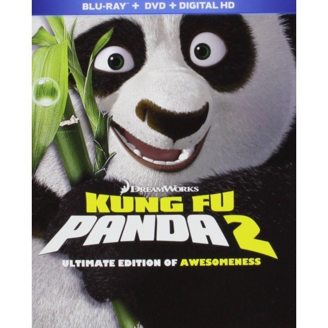 Kung Fu Panda 2 (Ultimate Edition of Awesomeness) [Blu-ray+DVD+Digital HD]