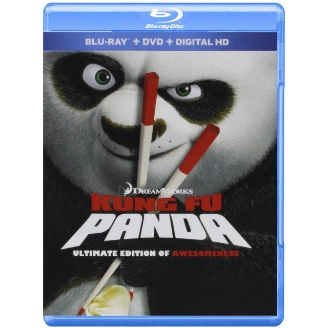 Kung Fu Panda (Ultimate Edition of Awesomeness) [Blu-ray+DVD+Digital HD]