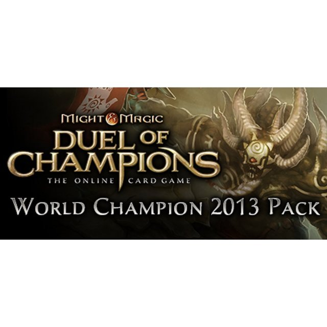 Might & Magic: Duel of Champions - World Champion 2013 Pack