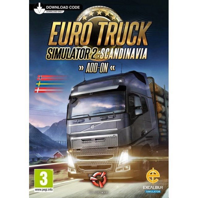 Euro Truck Simulator 2 - Scandinavia [DLC] (Steam)
