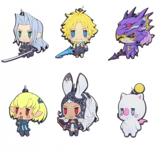 Final Fantasy Trading Rubber Strap Vol. 3 (Set of 6 pieces)