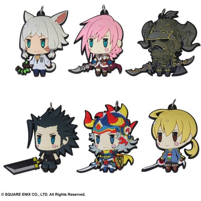Final Fantasy Trading Rubber Strap Vol. 6 (Set of 6 pieces)