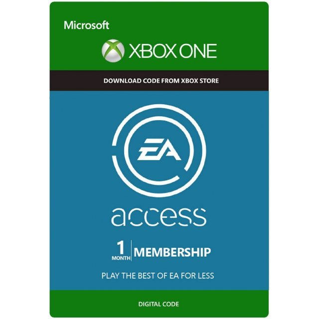 EA Access Pass 1 Month Subscription Code for Xbox One