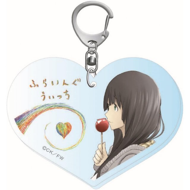 Flying Witch Acrylic Keychain 2