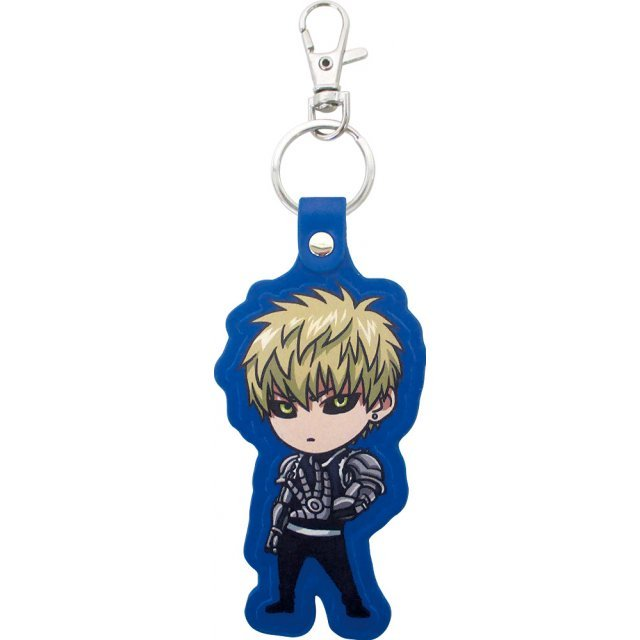 One-Punch Man Leather Key Ring: Genos