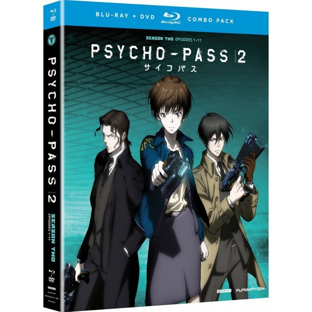Psycho-Pass 2: Season 2 [Blu-ray+DVD]