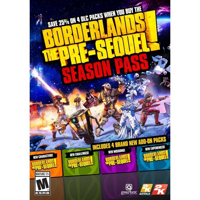 Borderlands: The Pre-Sequel - Season Pass (Steam)