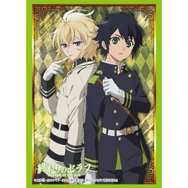 Bushiroad Sleeve Collection High-grade Vol. 992 Seraph of the End: Hyakuya Yuichiro & Hyakuya Mikaela
