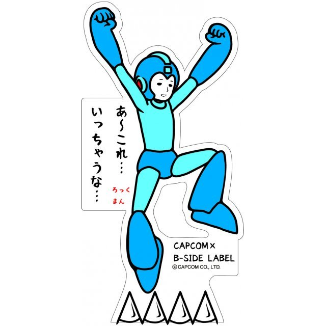 CAPCOM x B-SIDE LABEL Mega Man Sticker: Jump