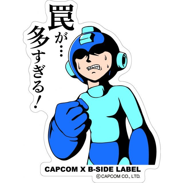 CAPCOM x B-SIDE LABEL Mega Man Sticker: Wana Ga...