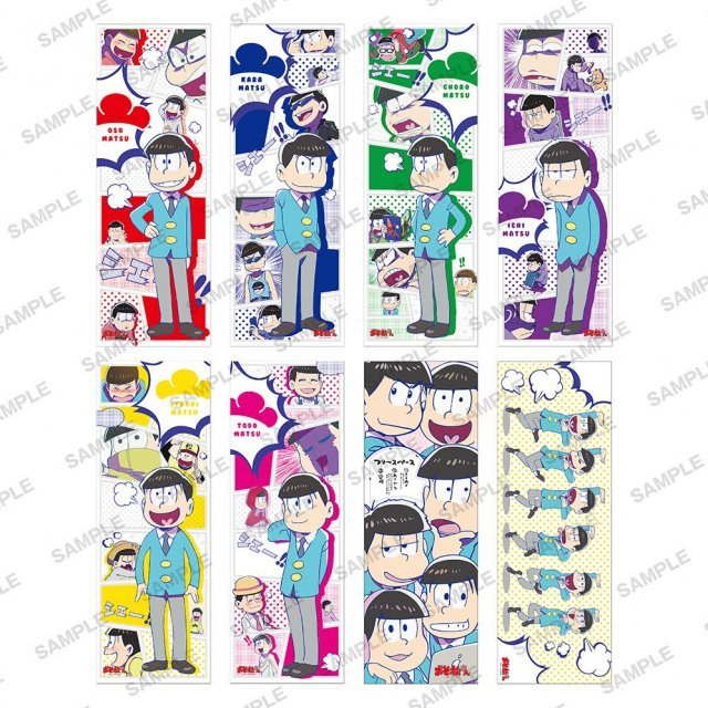 Osomatsu-san Pos x Pos Collection (Set of 8 pieces)