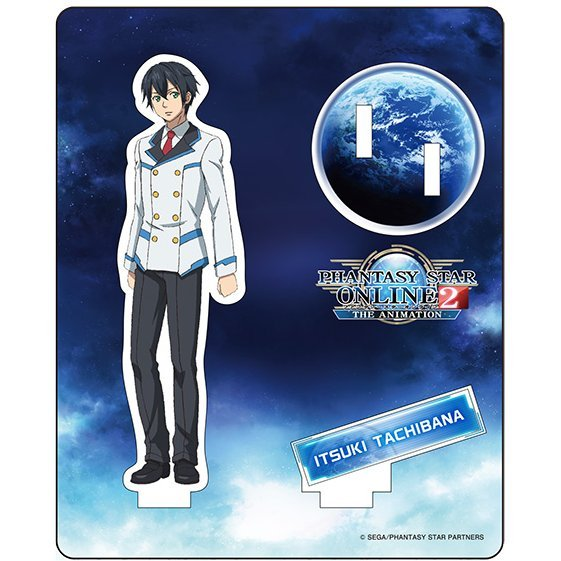 Phantasy Star Online 2 The Animation Acrylic Figure Collection: Tachibana Itsuki