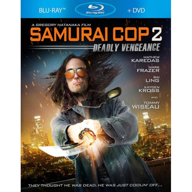 Samurai Cop 2: Deadly Vengeance [Blu-ray+DVD]
