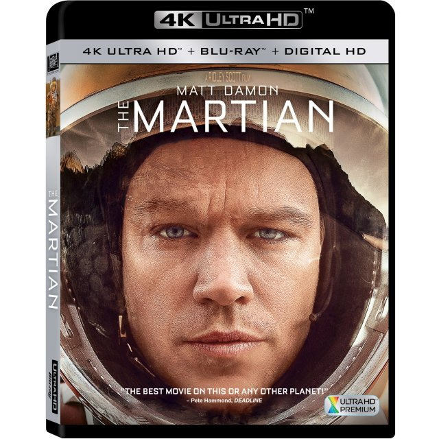The Martian [4K UHD Blu-ray]