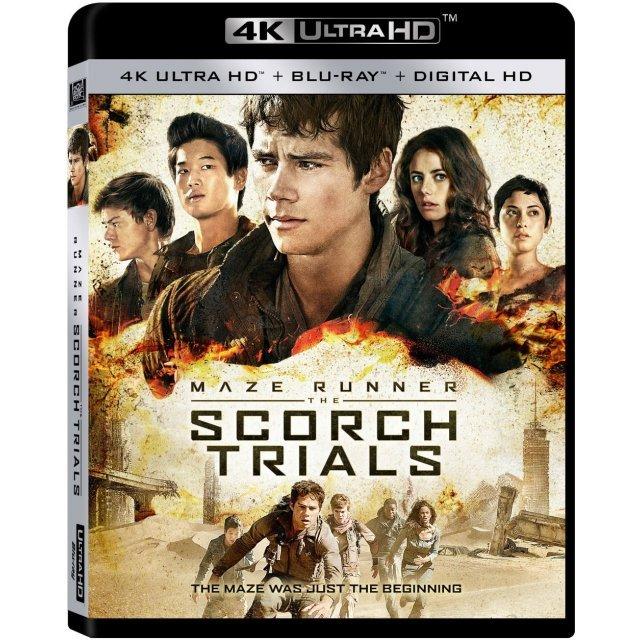 The Maze Runner: The Scorch Trials [4K UHD Blu-ray]