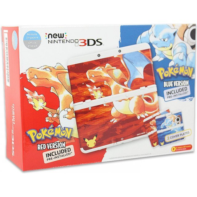 New Nintendo 3DS Pokemon 20th Anniversary Edition (Asia Packaging)