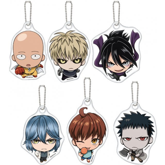 One-Punch Man Miagete Mascot (Set of 6 pieces)