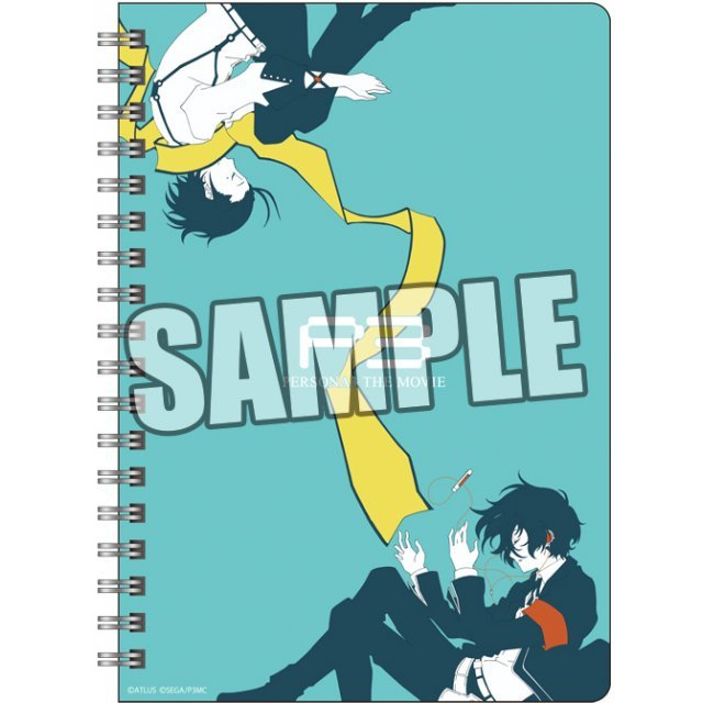 Persona 3 the Movie B6W Ring Notebook: Ver. A