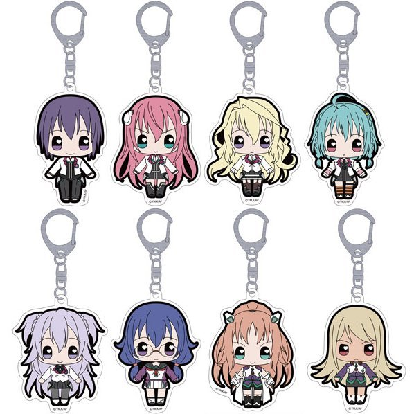 The Asterisk War Moekko Trading Acrylic Key Chain (Set of 8 pieces)