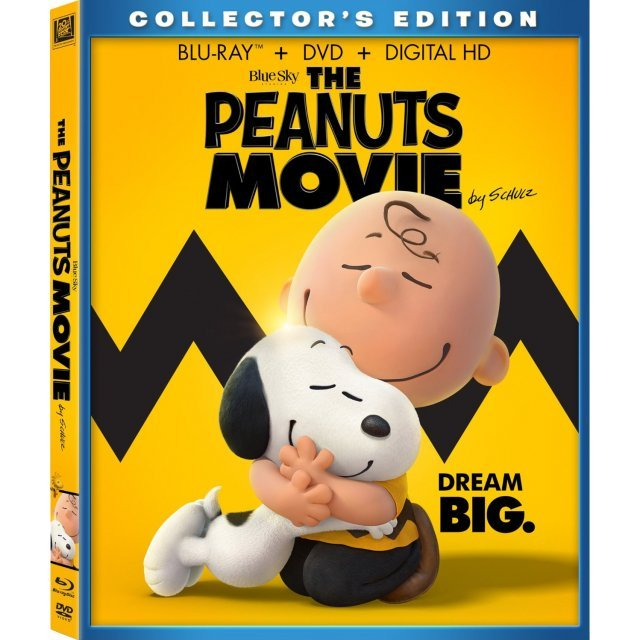 The Peanuts Movie (Collector's Edition) [Blu-ray+DVD+Digita HD]