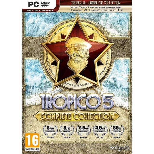 Tropico 5 - Complete Collection (DVD-ROM)