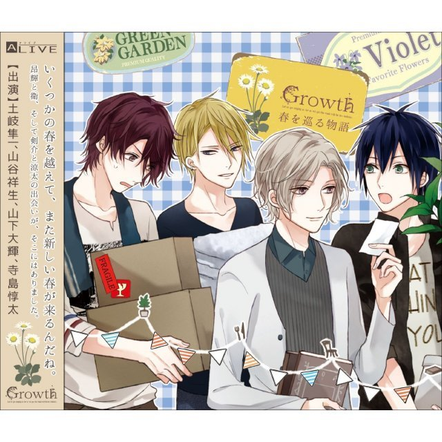 Alive Growth Drama Cd Vol.1
