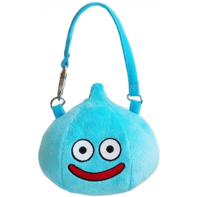 Dragon Quest Plush Gamaguchi Pouch: Slime