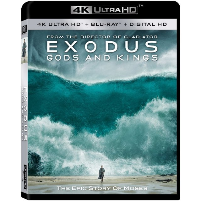 Exodus: Gods and Kings [4K UHD Blu-ray]
