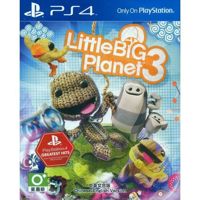 LittleBigPlanet 3 (Greatest Hits) (Chinese Subs)
