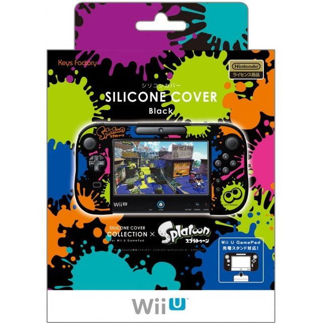 Silicon Cover Collection for Wii U GamePad (Splatoon Type B) (Re-run)