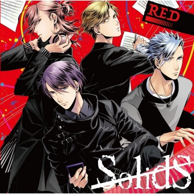 Solids Unit CD - Red