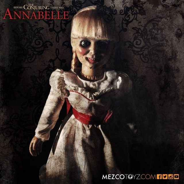 The Conjuring Scaled Prop Replica Doll: Annabelle