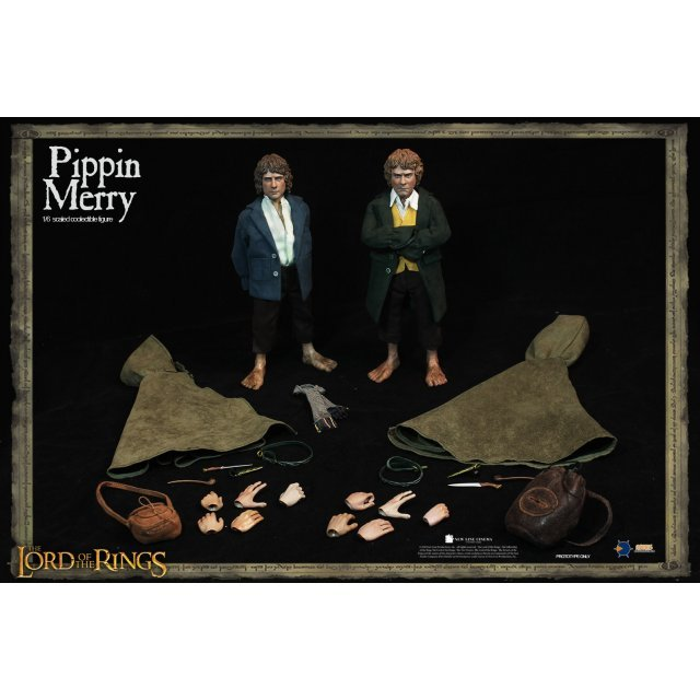 The Lord of the Rings 1/6 Scale Collectible Figure: Merry & Pippin Set