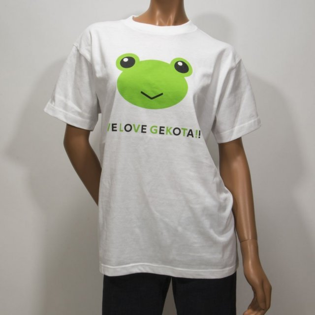 To Aru Kagaku no Railgun S Gekota Collection T-shirt S: We Love Gekota