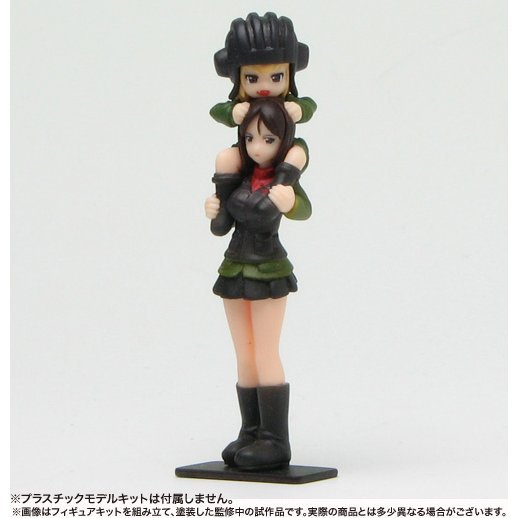 Girls und Panzer 1/35 Scale Resin Kit:  Pravda High School Figure Set (Re-run)