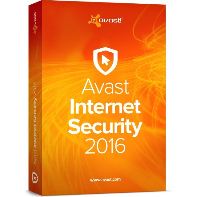 Avast Internet Security 2016, 1 User, 1 Year