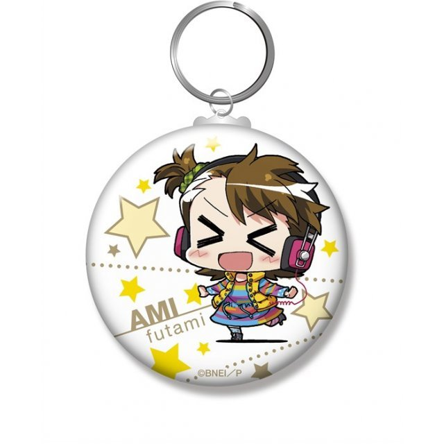 Minicchu The Idolmaster Can Key Chain: Futami Ami