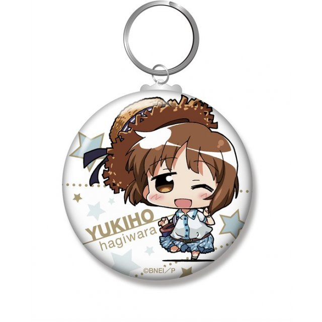 Minicchu The Idolmaster Can Key Chain: Hagiwara Yukiho