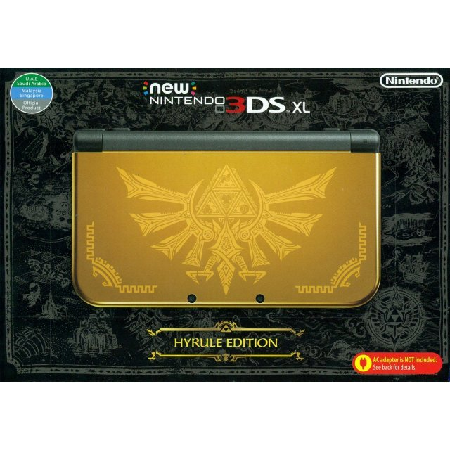 New Nintendo 3DS XL Hyrule Gold Edition (Asia Packaging)