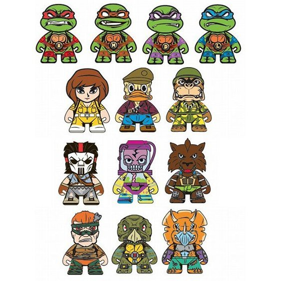 Teenage Mutant Ninja Turtles Mini Series: Shell Shock (Set of 20 pieces)