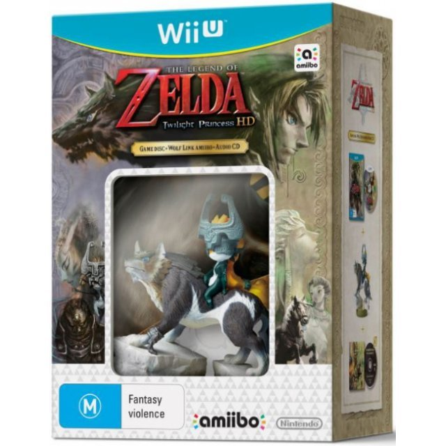 The Legend of Zelda: Twilight Princess HD (amiibo Bundle)