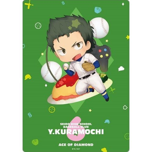 Ace of Diamond CharaToria Mouse Pad: Kuramochi Youichi