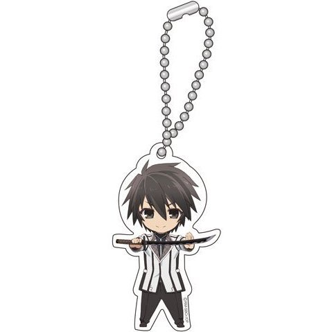 Chivalry of a Failed Knight Chibi Chara Key Chain A: Kurogane Ikki